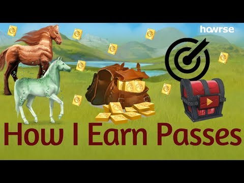 How I Earn Passes- How To Howrse