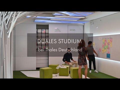 Duales Studium bei Thales Deutschland