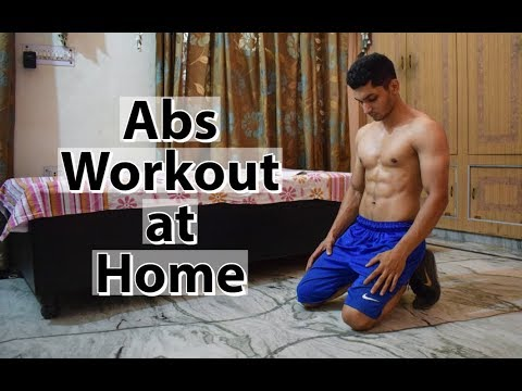 beginner abs workout at home no equipment  youtube