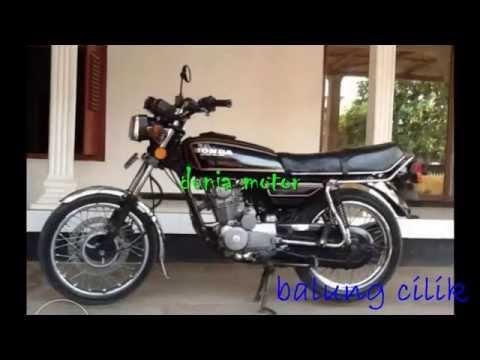 Modifikasi Motor Honda Gl100 Touring Harian