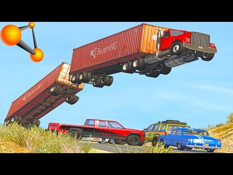 Insane Crashes !!! #86| Beam NG Drive