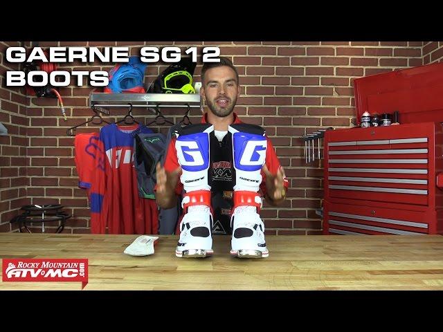 Gaerne SG12 Motocross Boots