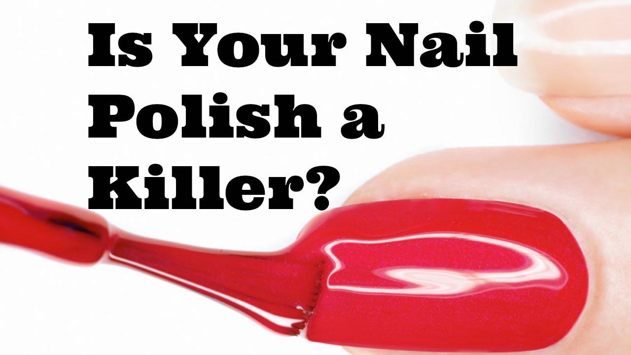 Is Your Nail Polish Toxic? & Natural Alternatives! - YouTube