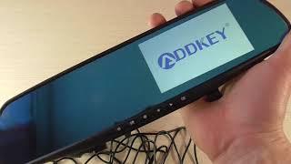ADDKEY камера-відеореєстратор дзеркало FHD 1080P