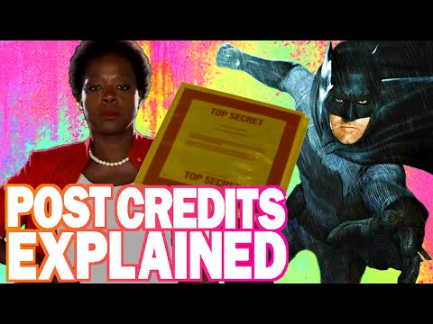 Suicide Squad - Post/End Credits Scene Explained - Justice League?