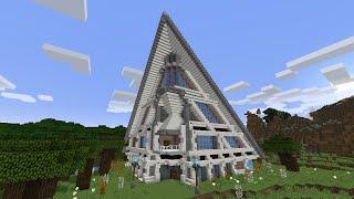Современный дом в майнкрафт 2 - Постройки - Карты