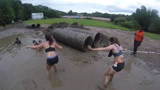 Terrain Racing [Mud Run] 2017 (Ninja Obstacle and a Mud Pool)