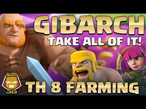 TH 8 GIBARCH   Farming Guide   Clash of Clans