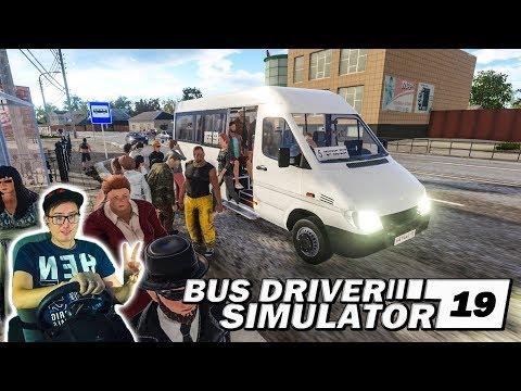 НОВАЯ МАРШРУТКА В МОЁМ ГАРАЖЕ И ТЮНИНГ ПАЗИКА! ВОДИТЕЛЬ МАРШРУТКИ Bus Driver Simulator 19