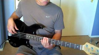 """""""Indak""""  (Up Dharma Down)  Bass Cover"""
