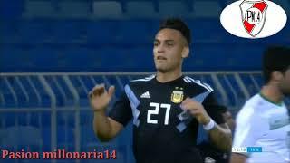 Partido amistoso Irak vs Argentina Resumen