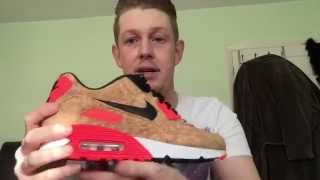 Nike Air Max 90 Cork (anniversary) review & on foot shots