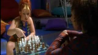 Mel B and Geri Playing Chess (SpiceWorld)