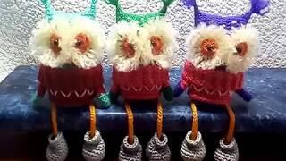Три совуньи, три подружки - вязание крючком