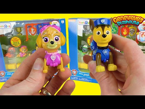 Thumbnail: Best Paw Patrol Learning Colors Video for Kids - PawPatrol Pull Back Pups Adventure Bay Race Day !