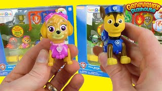 Paw Patrol Wind-Up Toys Race for the Championship!