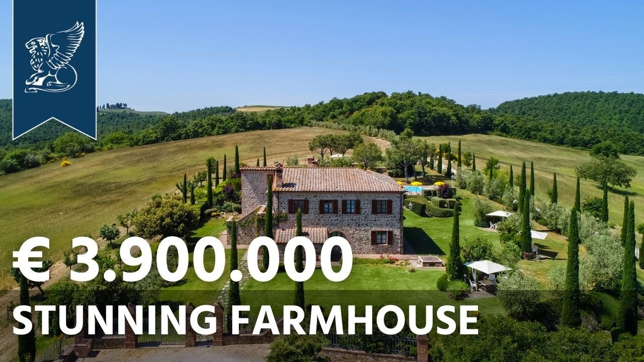 Villas Near Siena Italy charming tuscan villa for sale | siena, italy - ref. 3415