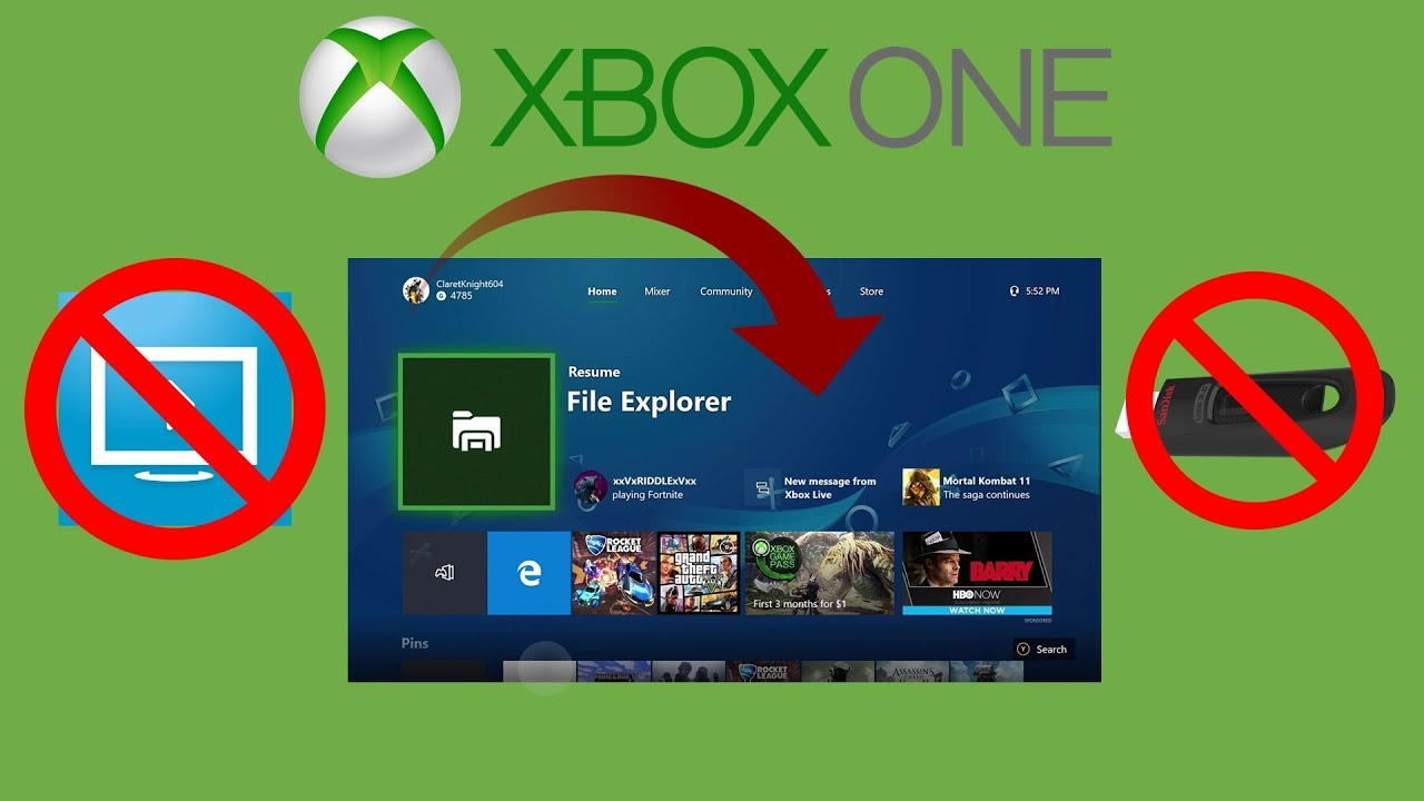 How To Change Your Xbox One Background Without Usb Or Weird Apps