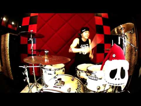 BLINK 182 Happy Holidays You Bastard Drum Cover