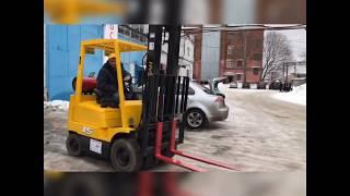 БУ ВИЛОЧНЫЙ ПОГРУЗЧИК HYSTER 1500 кг / ВЫСОКАЯ МАЧТА / в ИДЕАЛЬНОМ состоянии