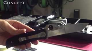 Spyderco Double Bevel 5P Review