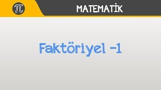 Faktöriyel -1