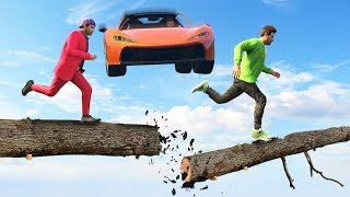 HOW DID HE SURVIVE THIS?! (GTA 5 Funny Moments)