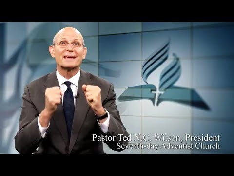Pastor Ted N.C. Wilson - President of the Seventh-day Adventist Church.