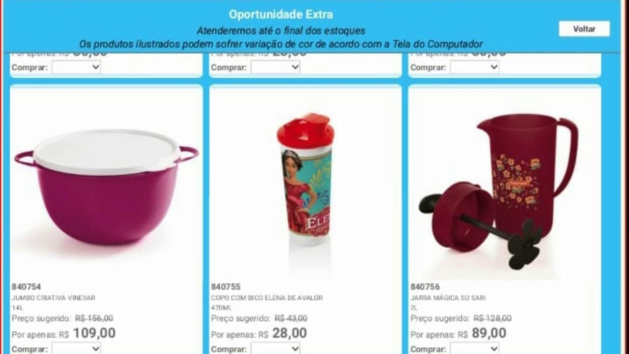 023426744c OFERTAS DA HORA SEMANA 1 / 2019 TUPPERWARE ❤ - YouTube