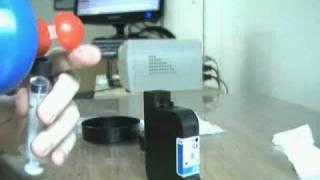 Como recarregar cartucho HP 45 ou HP 15 em dois minutos!