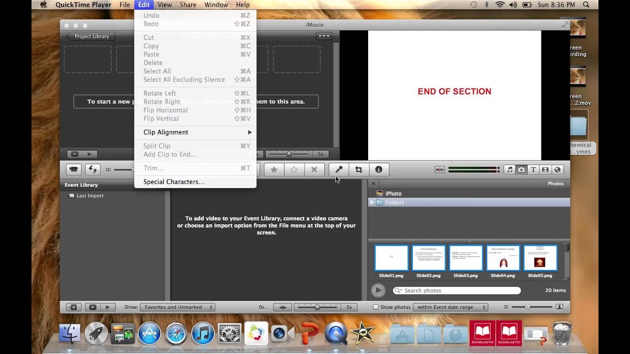 Podcast: How to export PPT slides and import into iMovie - YouTube