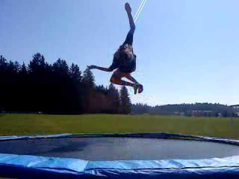 Trampolin Tricks Für Anfänger !  Youtube