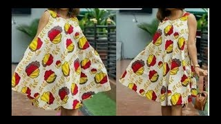 How to Make Sleeveless Umbrella/Circle Dress