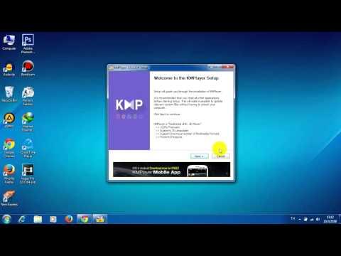 KMPlayer โปรแกรมดูหนัง HD
