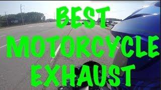 The Best Motorcycle Exhaust! + Yummi's Exhaust