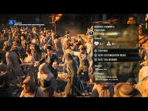 Xbox One Longplay [001] Assassin's Creed Unity (part 1 of 3)