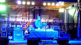 DJ Lethal - MashUp - Break Stuff, Smells Like Teen Spirit, Hardrock Cafe Sydney