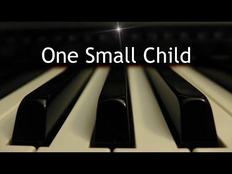 One Small Child - Christmas piano instrumental with lyrics