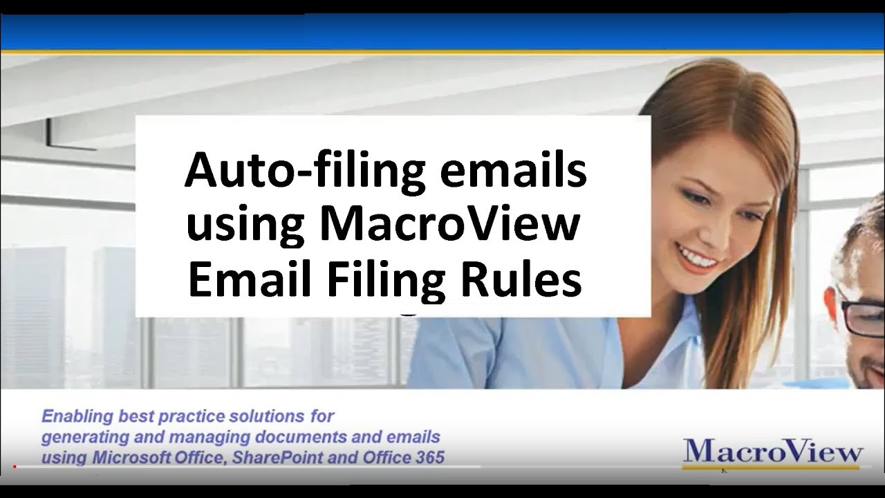 So You Want To Save Outlook Emails To SharePoint Too? – MacroView