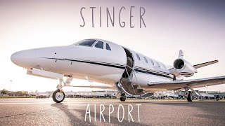 Stinger- Airport (yellow cone riddim ) 2019