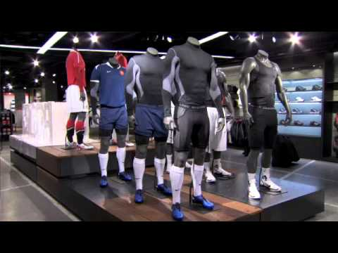 20959dc23401 Niketown London - World s Biggest Nike Store - YouTube