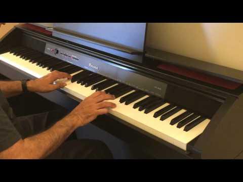 Kahin Door Jab Din Dhal Jaye Piano Cover By Nitin Urdhwareshe
