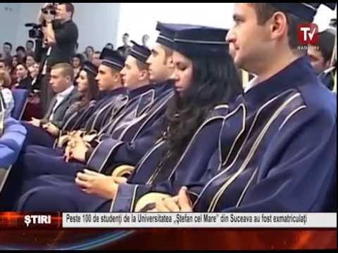 Peste 100 de studenti de la Universitatea Stefan cel Mare din Suceava au fost exmatriculati