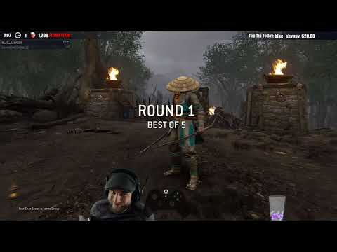 For Honor HIGH MMR! - ARAMUSHA vs ARAMUSHA! - HIGHEST LEVEL OF PLAY SO FAR!