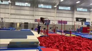 Simone Triple Pike Salto- Laurie Hernandez and Konnor McClain Training
