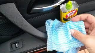 BMW Sticky Interior Door Handle Repair DIY - 2010 BMW 328i - FREE REPAIR