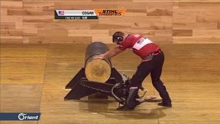 Australia's O'Toole wins Timbersports world championship