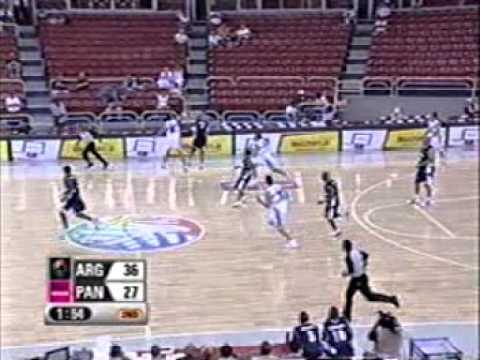 Pre-Mundial de Baloncesto Mayor Masculino - FIBA - PANAMA 89 - 84 - Argentina.