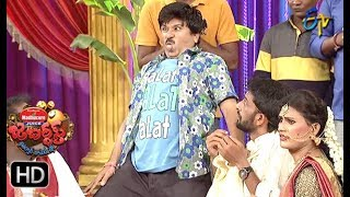 Rocket Raghava Performance | Jabardasth |  5th July 2018 | ETV  Telugu