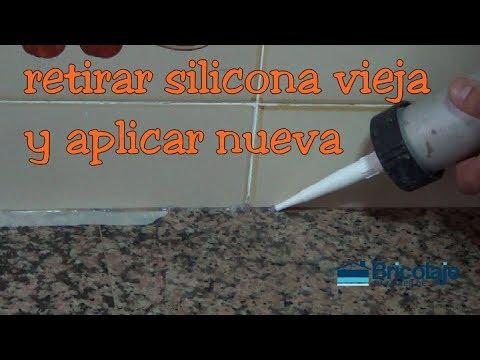C mo quitar la silicona vieja y a adir nueva youtube - Quitar silicona vieja ...